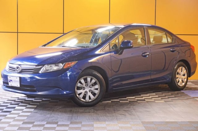 Pre-Owned 2012 Honda Civic Sdn LX