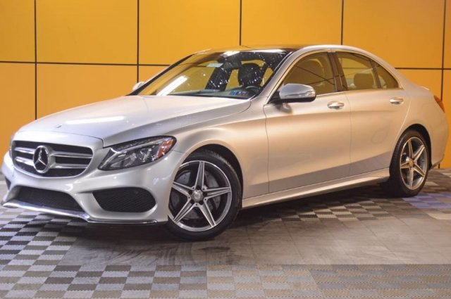 Pre-Owned 2015 Mercedes-Benz C-Class C 300 Sport