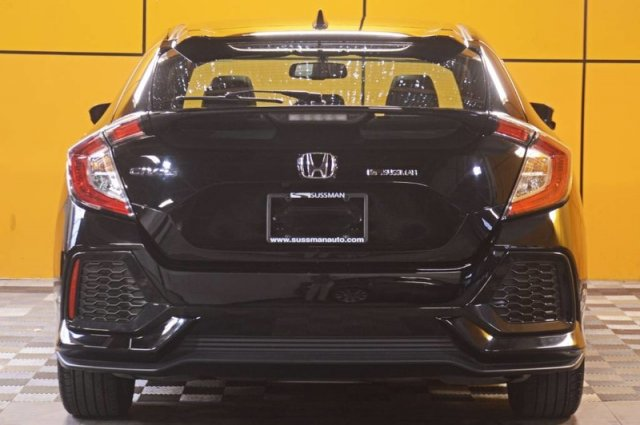 Pre-Owned 2017 Honda Civic Hatchback EX-L Navi